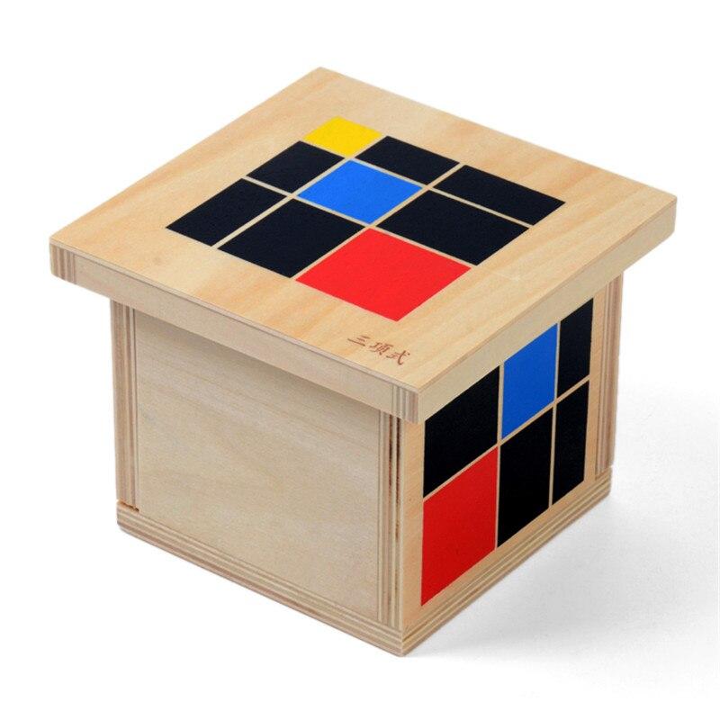 Baby Toy Montessori Trinomial Cube Мектепке дейінгі - Білім беру және оқыту - фото 2