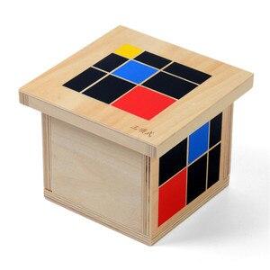 Image 2 - 赤ちゃんのおもちゃモンテッソーリ Trinomial キューブ数学幼児教育就学前トレーニング学習おもちゃグレートギフト