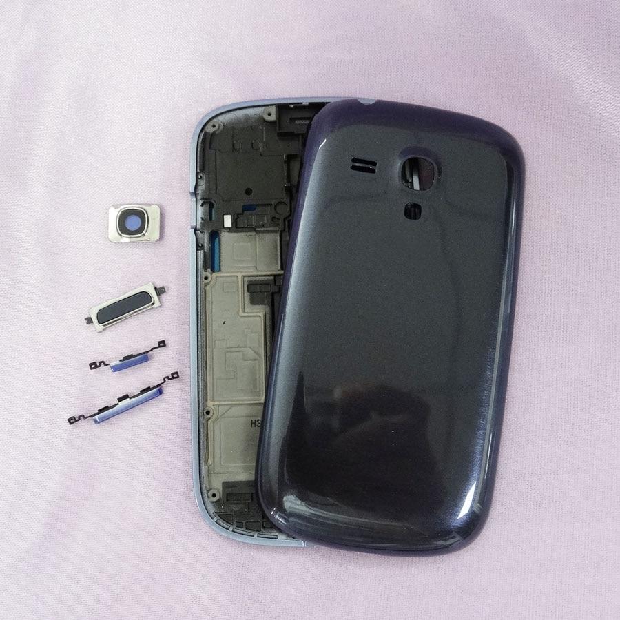 Para samsung galaxy s3 mini i8190 frontal del marco del soporte del ...