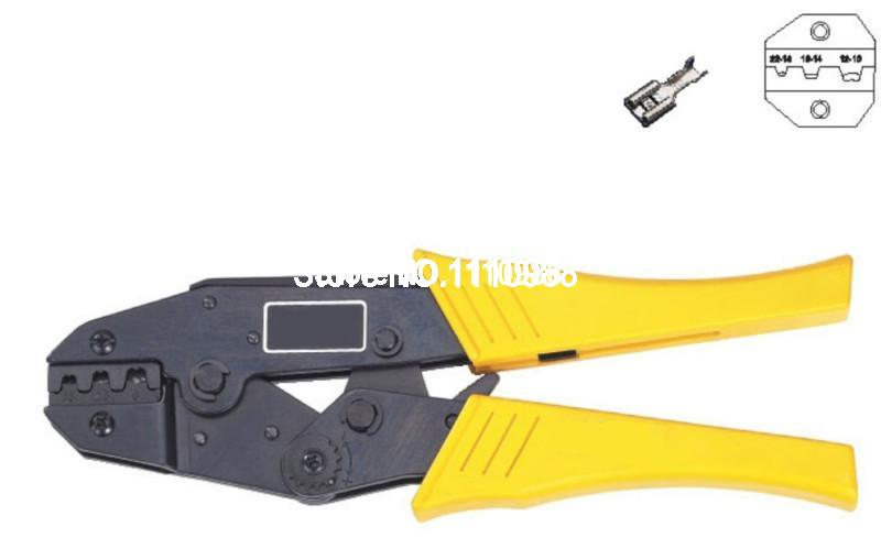 <font><b>HS</b></font>-<font><b>03B</b></font> Non Insulated Wire Ternimal Plier Crimper 0.5-6.0mm2 AWG 16-10 image