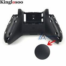 Черный 3,5 мм разъем для наушников Порт контроллер задняя крышка чехол Корпус для Xbox One игровой контроллер ж/Нескользящие частицы
