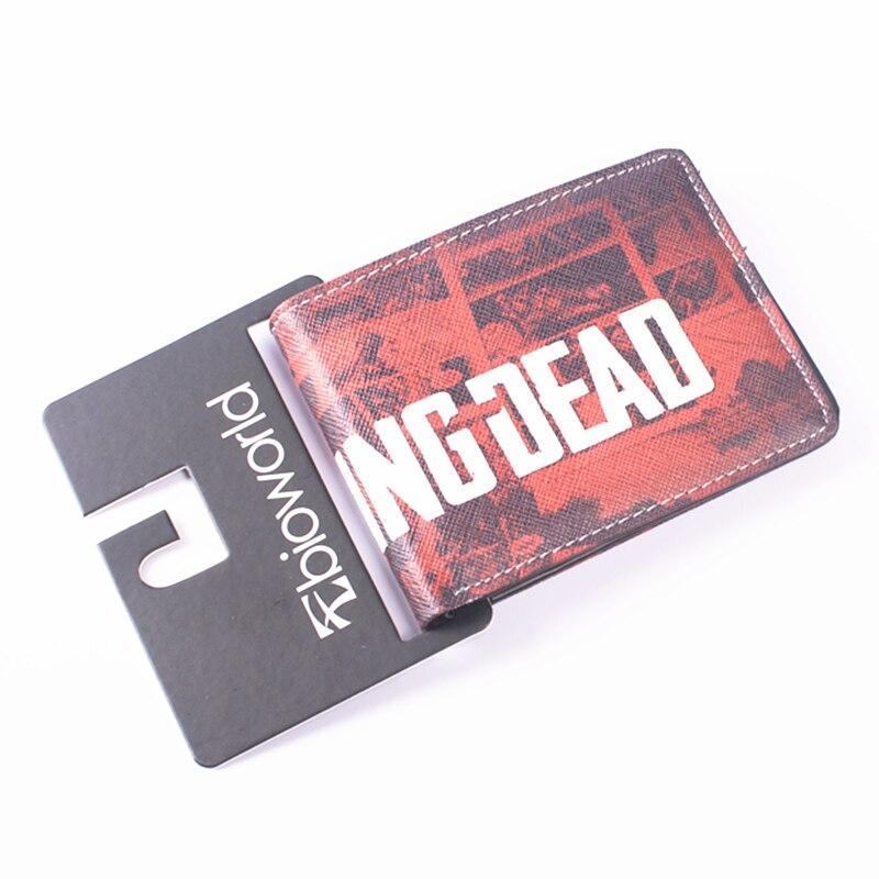 Hot Walking Dead Pénztárca Diák Egyéni Pénztárcák Baellerry Női pénztárcák Férfi pénztárca tasak