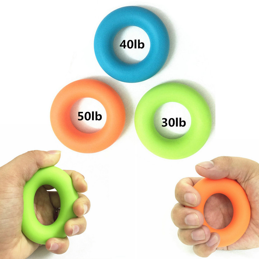 7cm Strength Hand Grips Finger Trainer Muscle Power Training Ring Exerciser Home Gym Fitness Training Hand Gripper