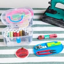 Storage Box Set of 10 Practical Home Sewing Box Universal Portable Sewing Kit Bag Sewing Finishing