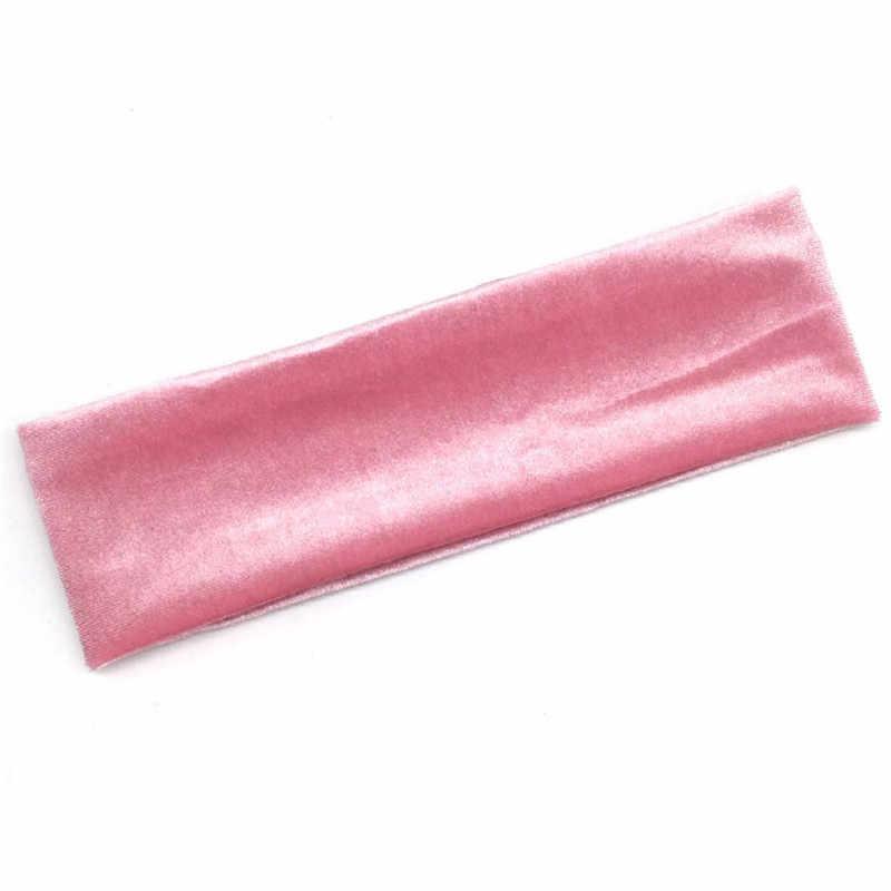 Новая Бархатная поверхность спортивная повязка для головы Sweatband высокого качества головные повязки для йоги широкая головная повязка для мужчин бег Футбол Hairband
