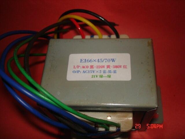 15V-0-15V  21V  Transformer  0- 220V-380V  input  70VA  EI66*45  Electric welding machine machine control inverter transformer15V-0-15V  21V  Transformer  0- 220V-380V  input  70VA  EI66*45  Electric welding machine machine control inverter transformer