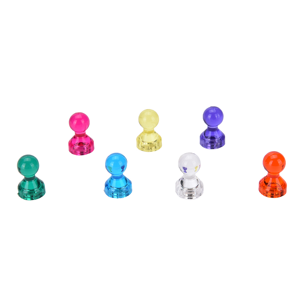 10 PCS DIY Strong Colored Magnetic Thumbtacks Neodymium Noticeboard Skittle Pin Magnets Whiteboard Random Color