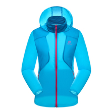 TECTOP Women Sunscreen Clothing Women Hiking Breathable Camping Sun-protective Women Outdoor Sport Summer Quick Dry Jacket