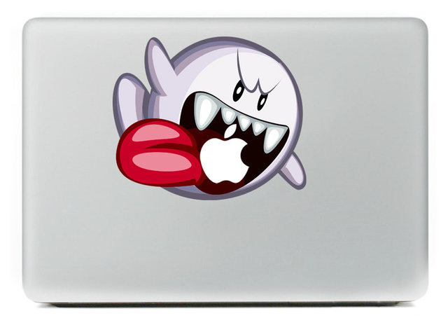 Flying ghost vinyl decal sticker for diy macbook pro air 11 13 15 inch laptop
