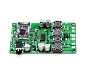 Image 2 - Aiyima bluetooth 5.0 2x15 w bluetooth 오디오 증폭기 보드 무선 amplificador 지원 aux 직렬 명령 변경 이름 암호
