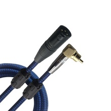 RCA Male to XLR Male Plug Audio Cable For DJ Turntable Mixer Console Microphone Home Theater Devices Cords 1m 2m 3m 5m