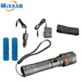 zk30 4000LM LED Flashlight Rechargeable Powerful Cree XM-L T6 Self Defense Tactical Torch Lamps 18650 Battery Charger Sleeve