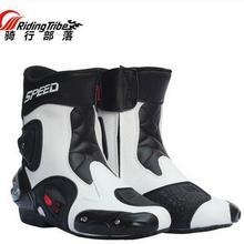 Новейшая гоночная обувь RidingTribe, мотоциклетные ботинки, мотоциклетная обувь, летняя обувь, ветрозащитные ботинки для автомобильных гонок