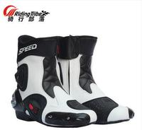 Newest RidingTribe Racing shoes, motorcycle boots, motorcycle shoes summer shoes automobile race boots windproof