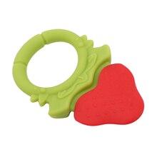 Креативное поступление Пищевая силиконовая молярная игрушка в форме фруктов для младенцев жевательные молярные игрушки Прорезыватели для зубов начальное обучение игрушки