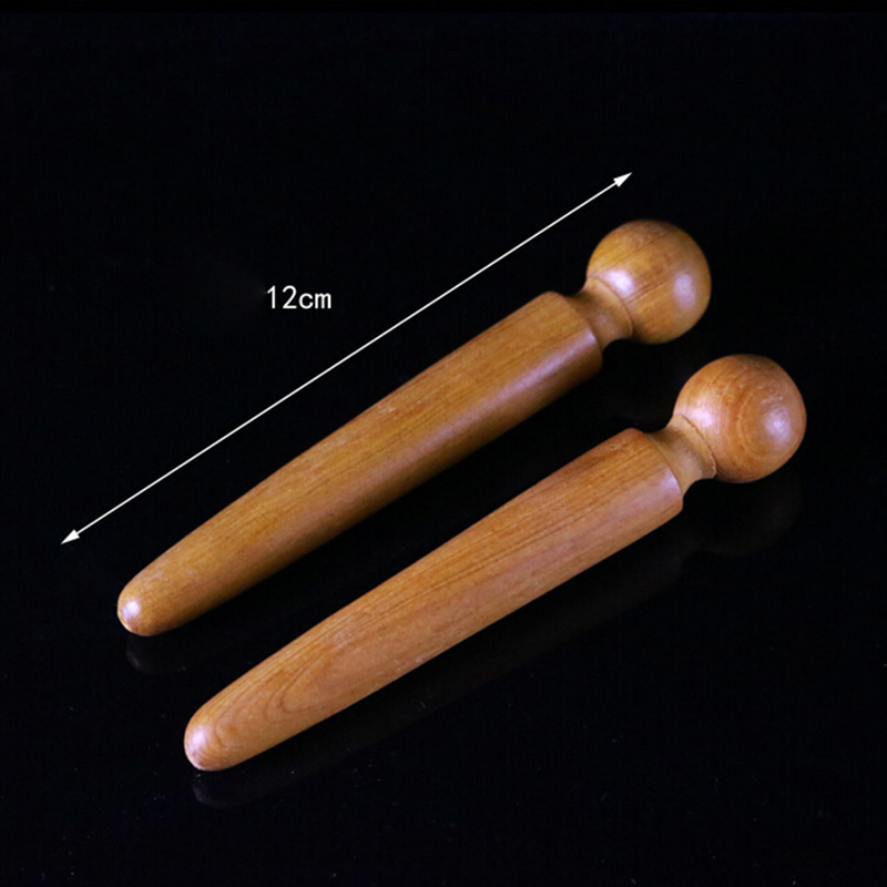 1PCS Foot Body Massage Wooden Stick Acupuncture Foot Reflexology Massager Relieve Muscle Soreness Relaxing Tool