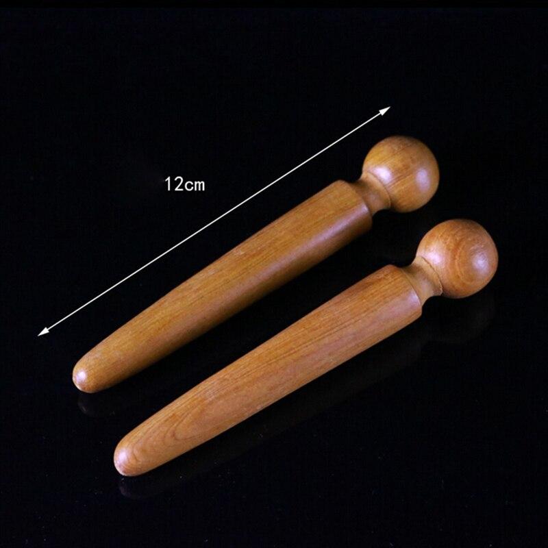 1PCS Foot Body Massage Wooden Stick Acupuncture Foot Reflexology Massager Relieve Muscle Soreness Relaxing Tool цены
