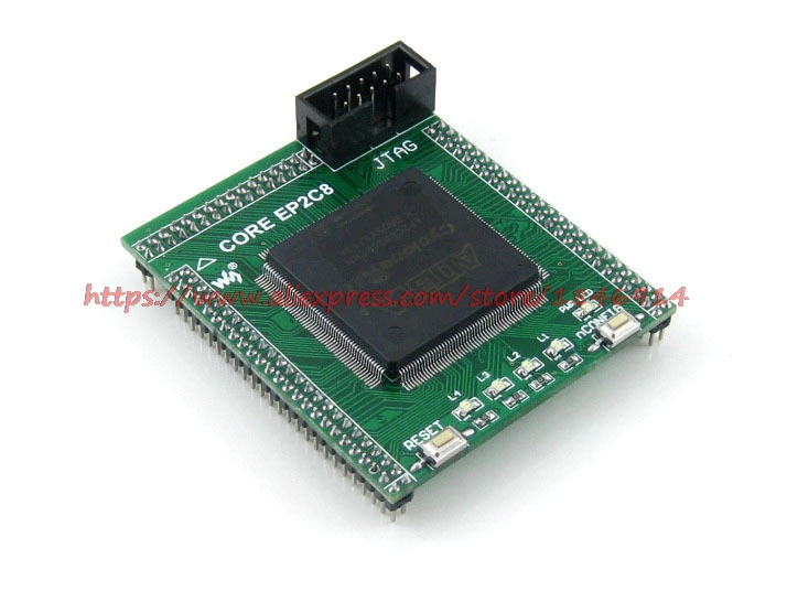 EP2C8Q208C8N EP2C8 FPGA  The FPGA Development Board Learning Board Core Board Small Volume IO All Leads FPGA