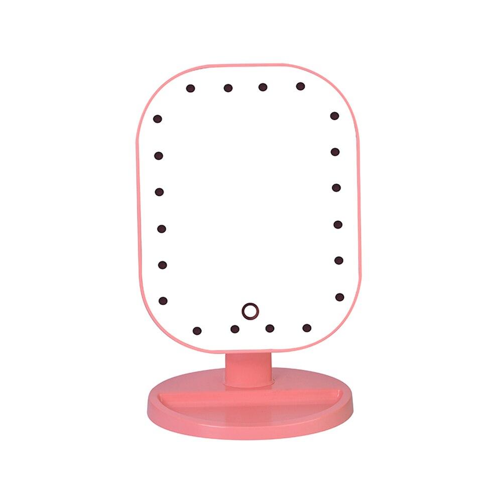Schminkspiegel Klug Touchscreen Make-up Spiegel Professionelle Eitelkeit Spiegel Mit 20 Led Licht Für Frauen Kosmetische Platz Schreibtisch Stand Make-up Spiegel Extrem Effizient In Der WäRmeerhaltung