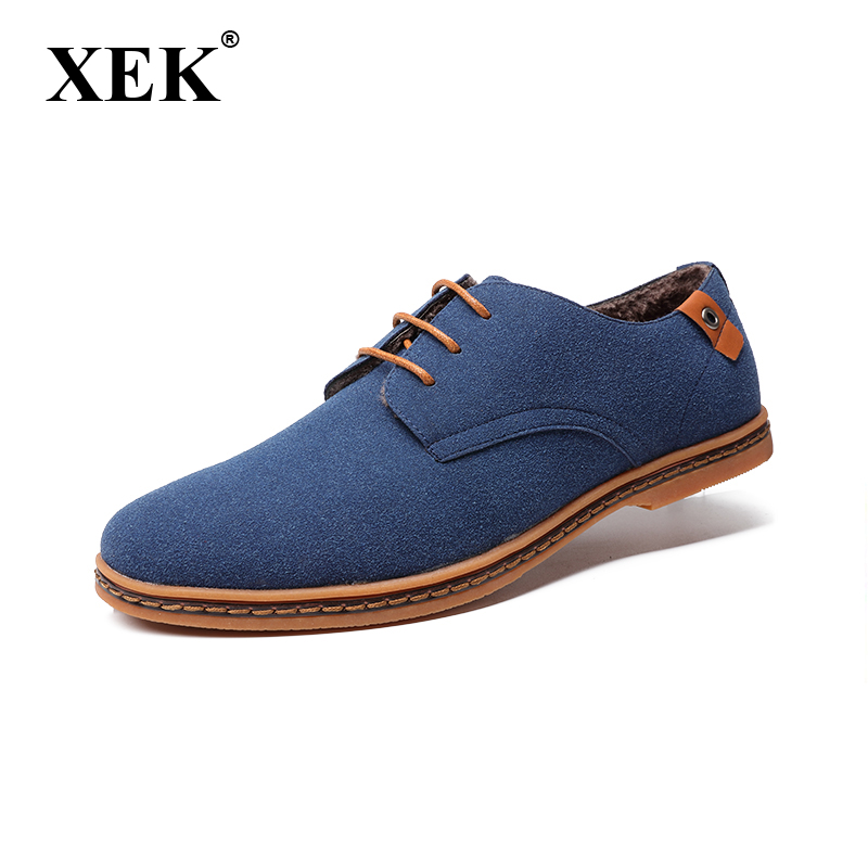 Men shoes 2017 New Fashion   Suede     Leather   shoes Men Sneakers Casual shoes oxfords for Spring Summer Winter shoes Dropshipping