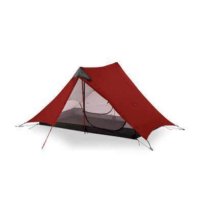 2019 3F UL เกียร์ LanShan 2 คน Oudoor Ultralight Camping เต็นท์ 3/4 Season 1 15D ไนลอนเคลือบซิลิโคน Rodless เต็นท์