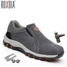 ROXDIA brand plus size 39-46 steel toecap women men work & s