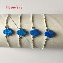 fa228d18d ... low cost opal stone 925 sterling silver jewelry fashion 8x10mm op05  synthetic fire opal hamsa hand