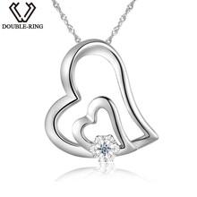 DOUBLE-R 0.01ct pendentifs En Diamant Vé ...