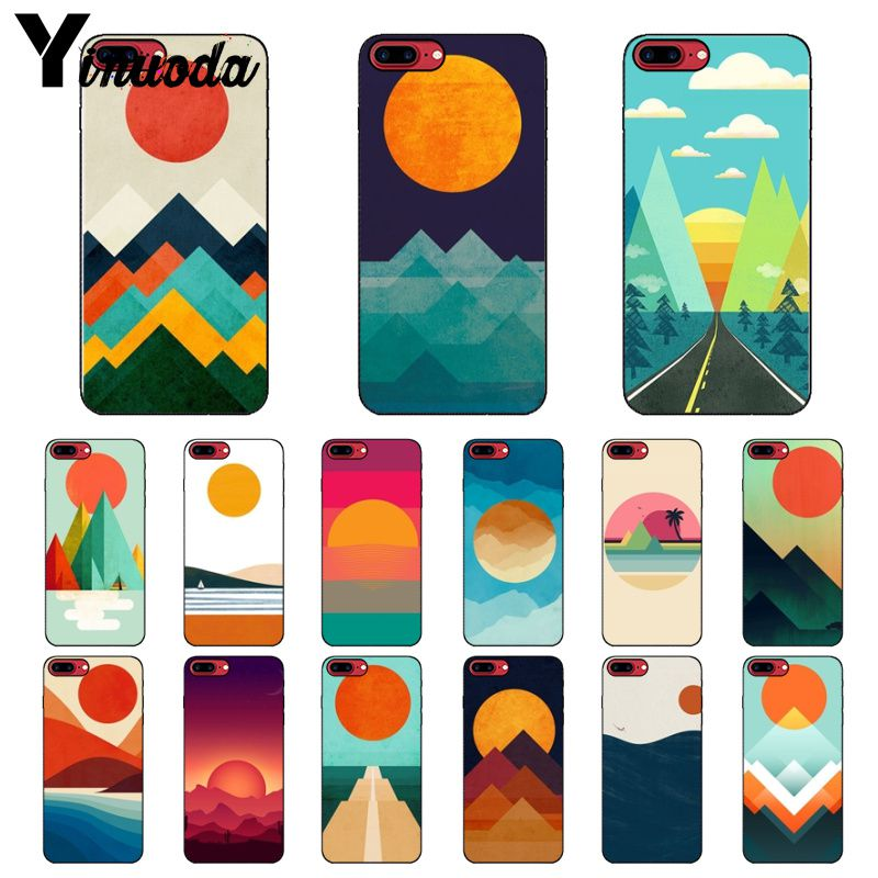 Apprehensive Yinuoda The Ocean The Sea Wave Black Soft Shell Phone Cover For Apple Iphone 8 7 6 6s Plus X Xs Max 5 5s Se Xr Cellphones Bringing More Convenience To The People In Their Daily Life Phone Bags & Cases Cellphones & Telecommunications
