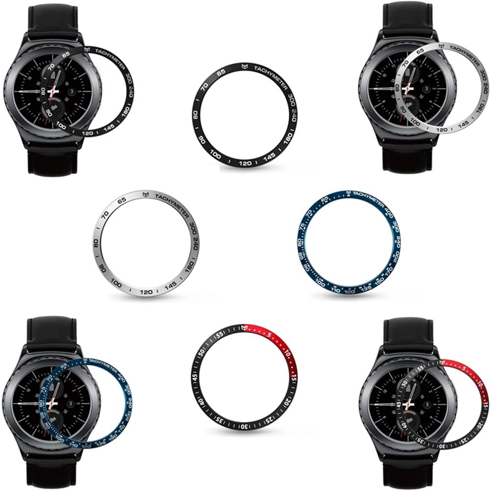 Ring Bezel Protection-Ring Smart-Watch Classic Stainless-Steel Samsung Gear High-Quality