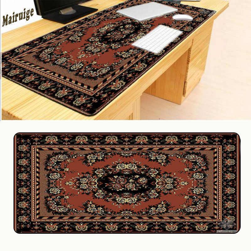 Mairuige красный персидский ковер 80x30 см Коврик для мыши Notbook компьютерный Большой