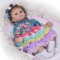Reborn Baby Doll игрушка для малышей с тканью тела 17 дюймов реалистичные детские игрушки для детей сюрприз Lol популярных Reborn куклы младенца