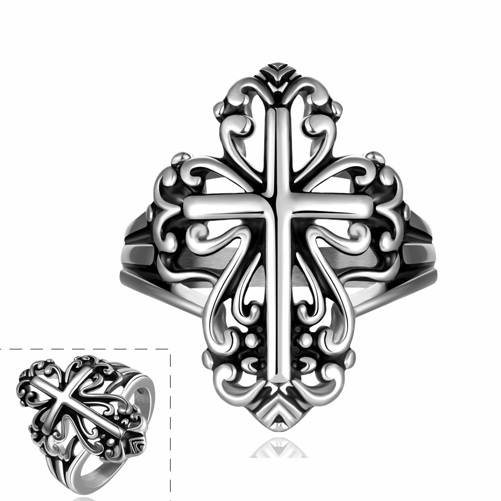 cross men jewelry cross vpr154 anillos anel vintage wedding rings pillow steampunk engagement rings for - Steampunk Wedding Rings