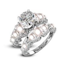 Круглое 8мм кубическое циркониевое женское кольцо с бриллиантами 925 серебряных украшений