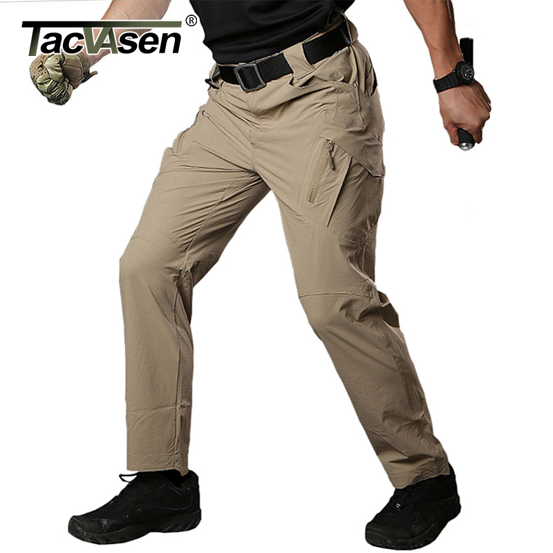 TACVASEN IX9 Men Summer Tactical Pants Mens Waterproof Cargo Pants Military Quick Drying Pants Army Combat Trousers TD-QZJL-018 candino c4523 3