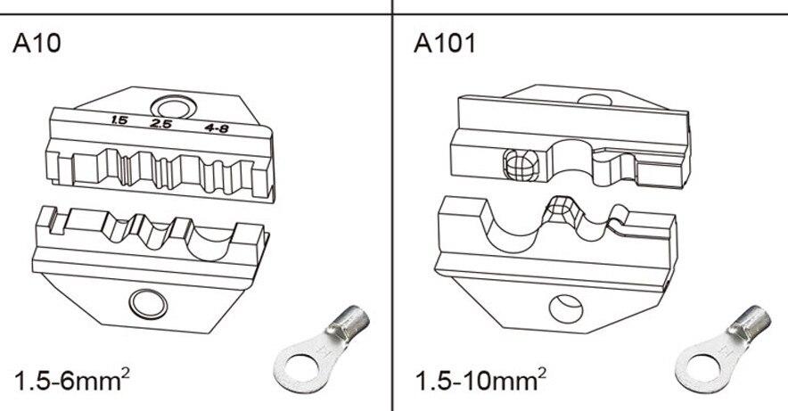 лучшая цена Crimple Tools Locks for FEK-06M