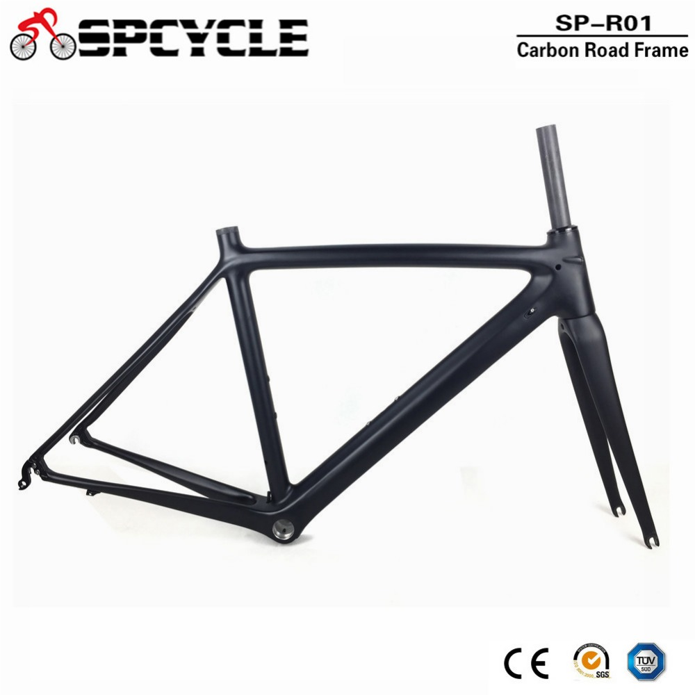 2018 Newest T1000 Full Carbon Fiber Road Bike Frame UD Black Ultralight DI2 Carbon Road Bicycle