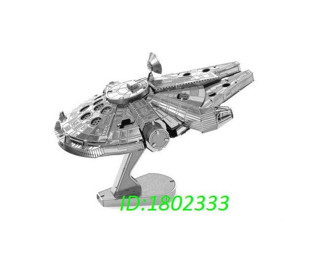 ФОТО Metal Earth Star Stainless steel metal diy assembly model  mini  Star War model desk ornaments