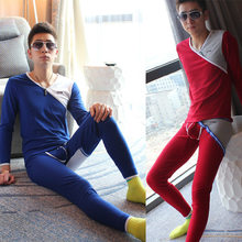 Cotton Underwear Free shipping hot sale new thermal underwear women men winter thickening warm long johns top+pant sexy soft und