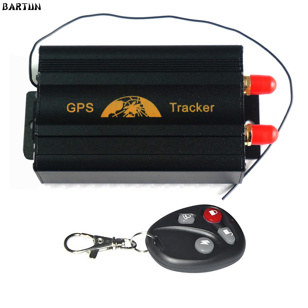 covert car gsm gprs system mini vehicle remote control car gps tracker tk103b real time sms
