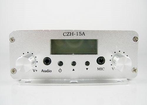 czh-15a 15w pll fm стерео передатчик