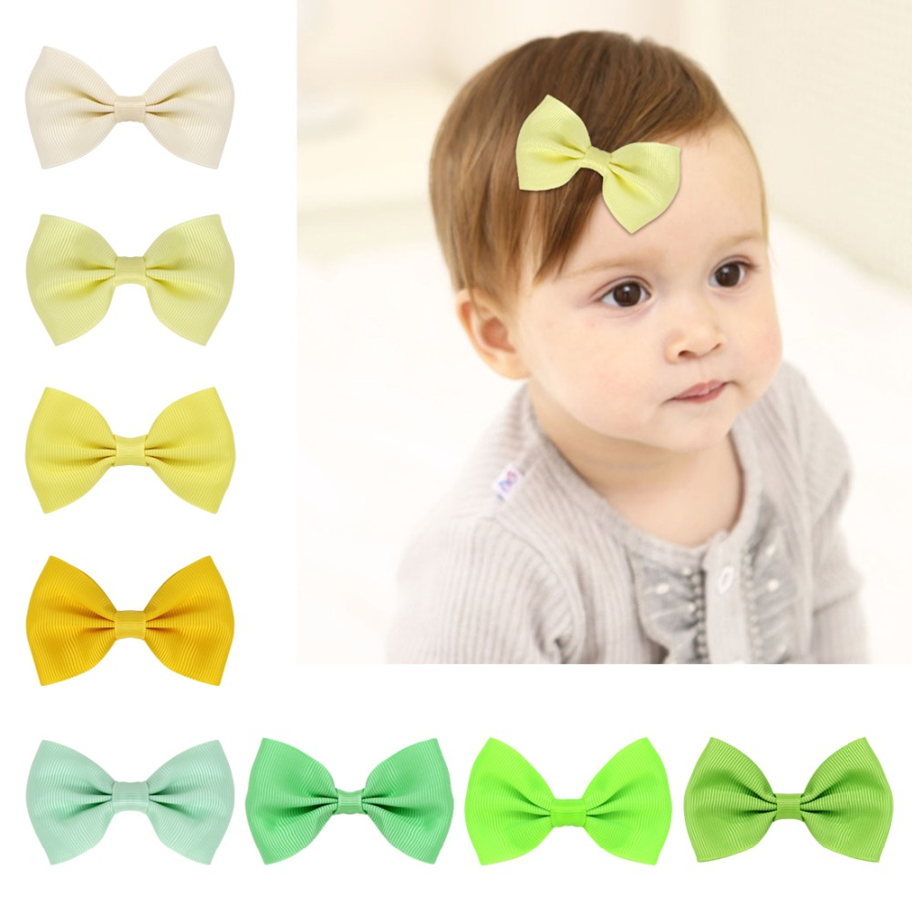 THBOXES Baby Hair Accessory Hair Bows Clips Girl's Fabric Bow Kid's Bows hairpins For Headbands Clips 40pcs/set for Christmas new arrival baby cute 30pcs lot wholesale hair clips glitter animals butterfly felt hairpins high quality baby princess clips