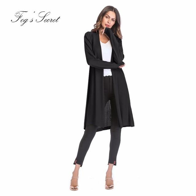 Women Knitted Loose Coat Cardigan For Women Long Sweater Coat