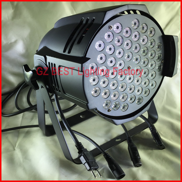 10pcs/lot par led rgbw 54x3w led wash dmx dj disco bar stage effect party lamp light dj disco lighting par led 54x3w rgbw stage par light dmx controller party disco bar strobe dimming effect