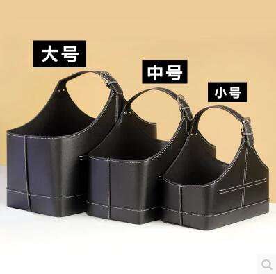 3PCS/set home organization storage basket with lift-handle for newspaper magazine sundries gift baskets gift baskets 279B
