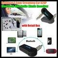 20 Шт.! V3.0 + EDR 3.5 мм Потокового Автомобиля A2DP Беспроводной Bluetooth Audio Музыка Приемник Адаптер + Mic Разъем для ipad/mp4/PC, + Коробка