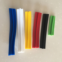 100meter roll 16mm width Chrome Colour Plastic T Mould/ Plastics T molding to decorate your arcade game machine