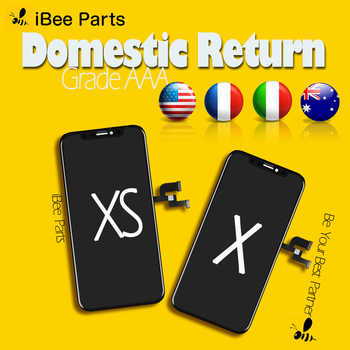 iBee Parts 5PCS Grade AAA TFT LCD For iPhone X XS OLED AMOLED LCD Glass Touch Screen Assembly Replacement Free DHL - DISCOUNT ITEM  25% OFF All Category