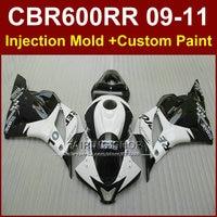 Repsol customize fairing set for HONDA CBR600RR fairings 2009 2010 2011 cbr600rr ABS white bodykit CBR 600 RR 09 10 11+7Gifts