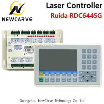 Ruida RDC6445 RDC6445G Laser Machine Controller For CO2 Laser Engraving Cutting Machine Upgrade RDC6442 RDC6442G NEWCARVE